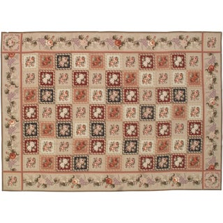 Stark Studio Rugs Traditional Chinese Needlepoint 100% Wool Rug - 14′9″ × 20′7″ For Sale