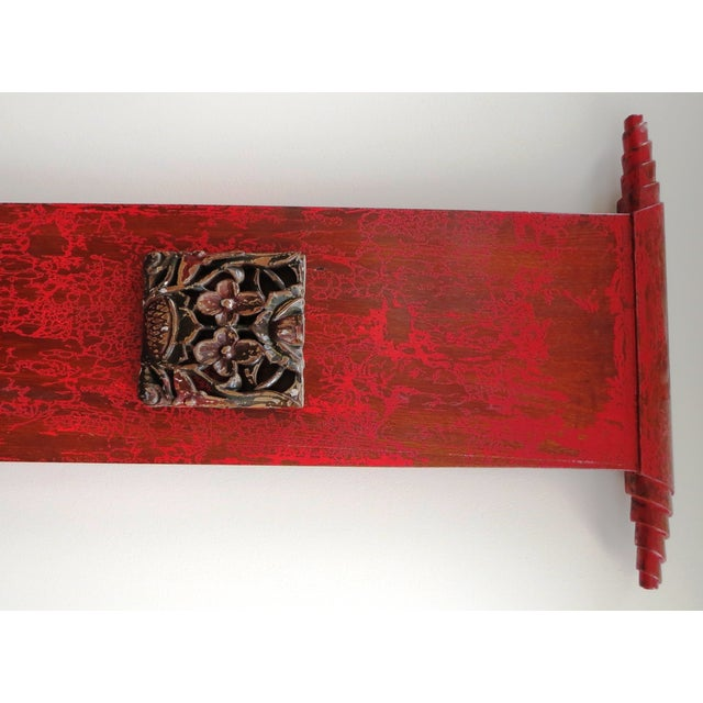 """Tall Asian Alter Chair 81""""High - Image 5 of 6"""