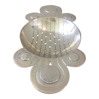 Art Deco Sterling Silver Tea Strainer