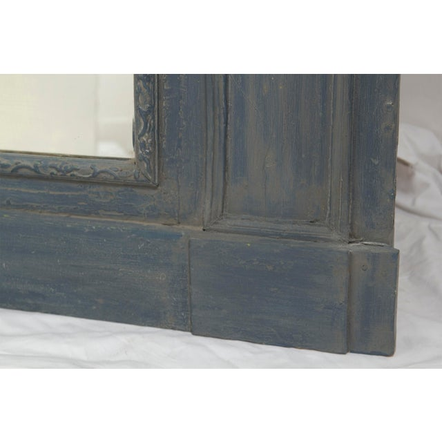 Early 20th Century Painted Trumeau Mirror For Sale - Image 4 of 7