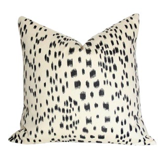 Contemporary Les Touches Black Pillow - 22x22 For Sale