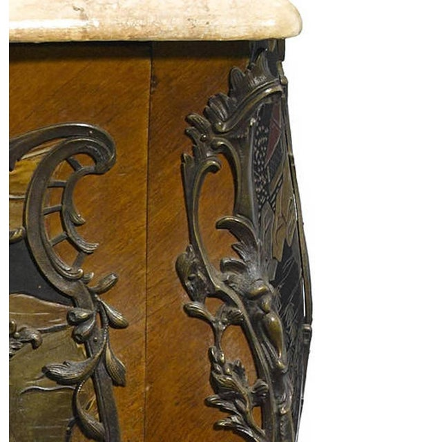 French Louis XV Style Chinoiserie Coromandel Commode, 19th Century For Sale - Image 3 of 9