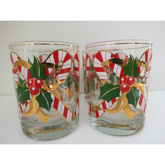 Culver Candy Cane Glasses - S/4 - Image 5 of 6