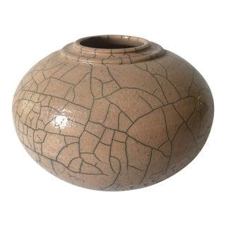 Vintage Pottery Vessel Vase