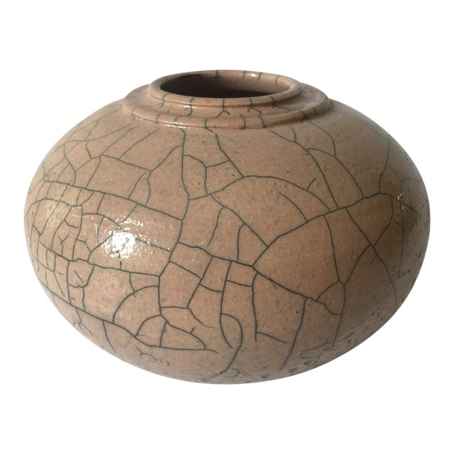Vintage Pottery Vessel Vase Chairish