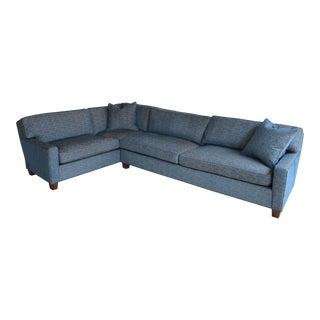Hickory Chair Custom Sectional Sofa For Sale