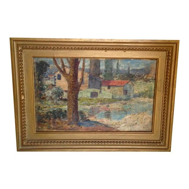 """""""El Arbol"""" Oil Painting by Miles J. Early - Image 1 of 6"""