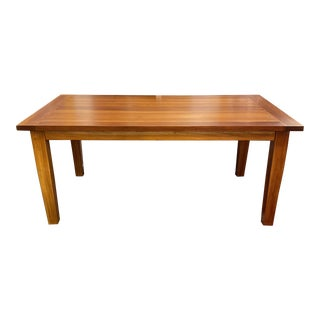 Harvest Home Solid Wood Extension Table For Sale