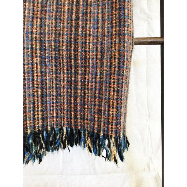 "Vintage Wool ""Rainbow"" Blanket - Image 4 of 6"