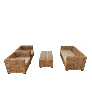 21st Century Kuta Rattan Set- 4 Pieces For Sale