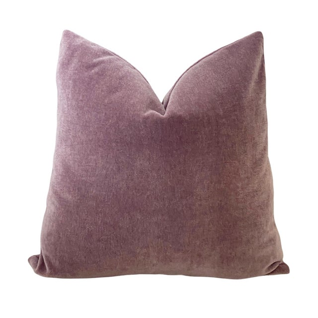 Mohair pillows wear like iron and add classic style to any decor. The Pacific Blue is a beautiful deep ocean blue with the...