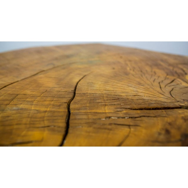 Huge Solid American Studio Coffee Table or Stool by Howard Werner For Sale - Image 6 of 8