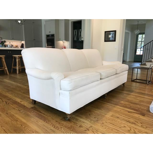 2010s Ralph Lauren English Rolled-Arm Sofa For Sale - Image 5 of 6