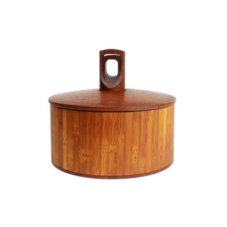 Danish Modern Dansk Teak Ice Bucket For Sale