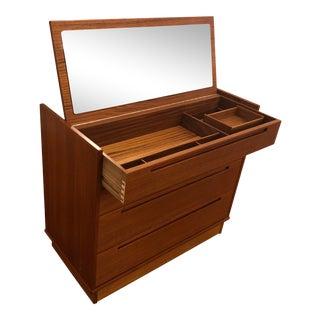 Nils Jonsson for Torring Mobelfabrik Teak Mid Century Vanity / Dresser For Sale