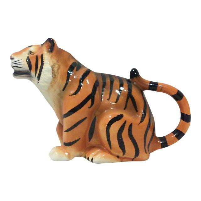 Ceramic Tiger Pitcher For Sale
