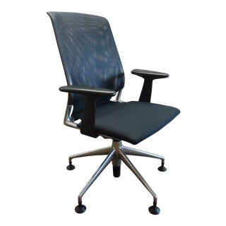1996 Alberto Meda for Vitra Meda Swivel Guest Chair With Mesh Backrest For Sale