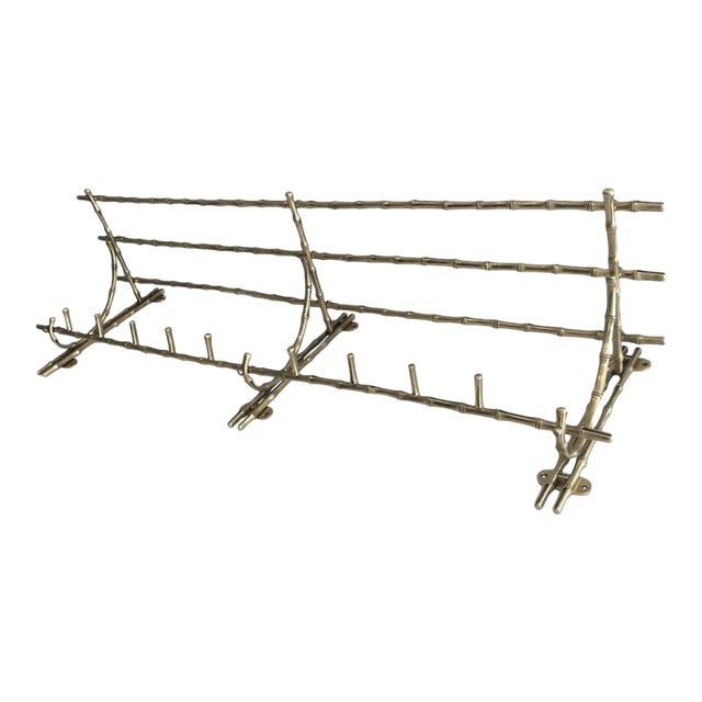 French Bronze Coat Rack by Maison Bagués. - Image 1 of 7