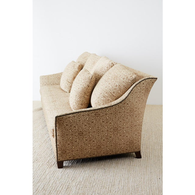 2000 - 2009 Jonas New York Bruxelles Four Seat Upholstered Sofa For Sale - Image 5 of 13