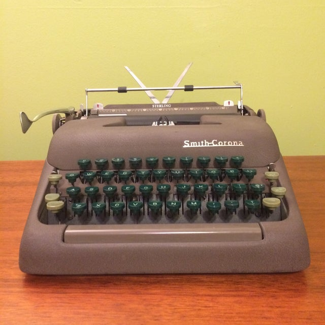 Vintage Smith-Corona Sterling Typewriter & Case - Image 2 of 8