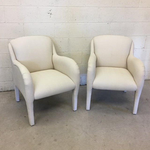 Contemporary Modernist Arm Chairs - a Pair For Sale - Image 10 of 10