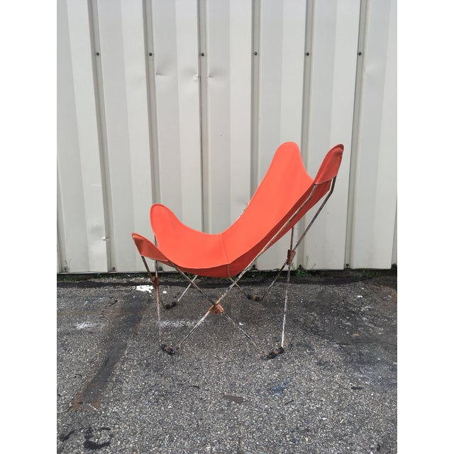 Mid-Century Modern 1950s Mid-Century Butterfly Chair For Sale - Image 3 of 11