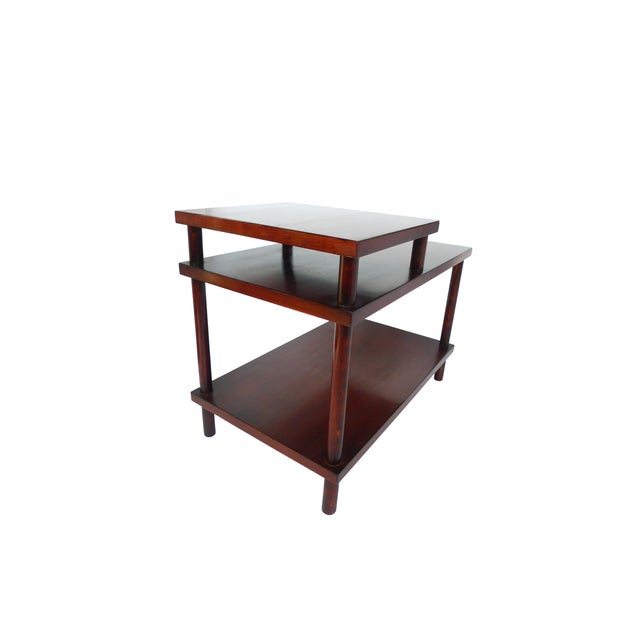 John Widdicomb Robsjohn-Gibbings Tiered Side Table for Widdicomb For Sale - Image 4 of 10