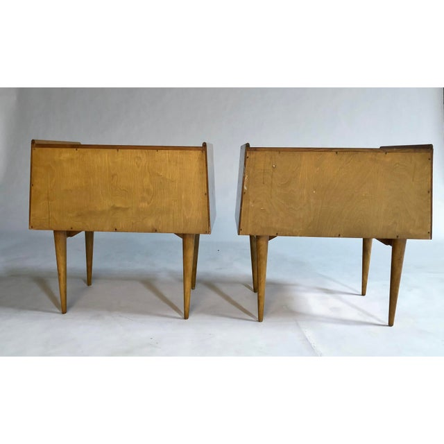 1950s Edmond Spence Nightstands For Sale - Image 5 of 11