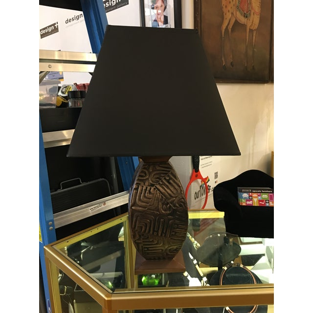 Design Plus Gallery has a metal base lamp from Gump's. Gump's Furniture is a legendary destination in San Francisco for...