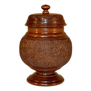 19th C Treen Humidor For Sale
