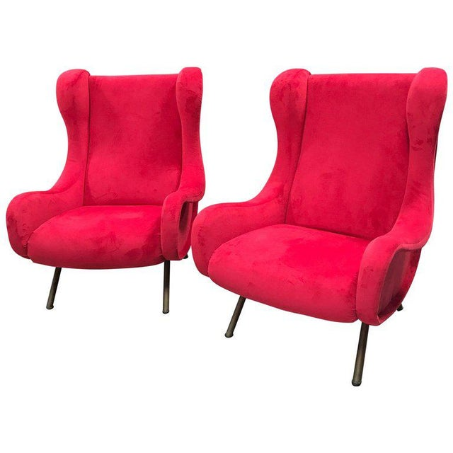 1960s Pair of Marco Zanuso Senior Armchairs for Arflex For Sale - Image 9 of 9