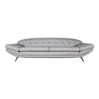 1950's Gondola Sofa by Doetsch and Bauer For Sale