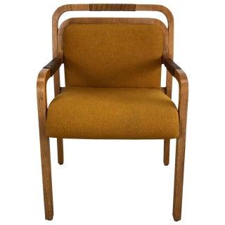 Unusual Modernist Desk Chair Made by Gunlocke For Sale