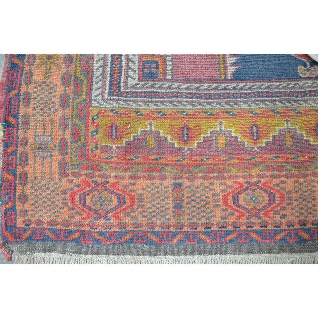 Vintage Turkish Oushak Carpet - 4′5″ × 8′ - Image 6 of 6