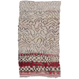 Vintage Moroccan Talsint Rug - 5′10″ × 10′11″ For Sale
