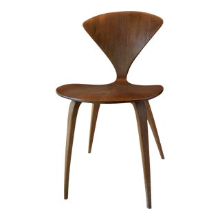 Mid-Century Danish Modern Bent Plywood Norman Cherner Plycraft Chair For Sale