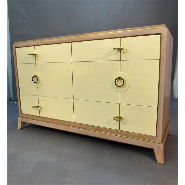 Parzinger Style Chest of Drawers For Sale In New York - Image 6 of 10