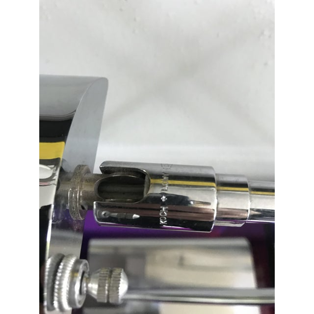 Minimalism Koch & Lowy Articulating Chrome Desk Lamps, a Pair For Sale - Image 3 of 10