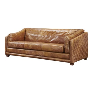 Crafters and Weavers Waco Rustic Modern Sofa For Sale