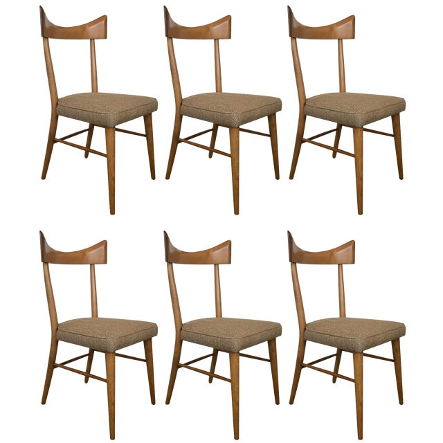 Vintage Mid Century Paul McCobb for Planner Group Dining Chairs- Set of 6 For Sale