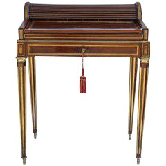19th C. French Paul Sormani Writing Desk For Sale