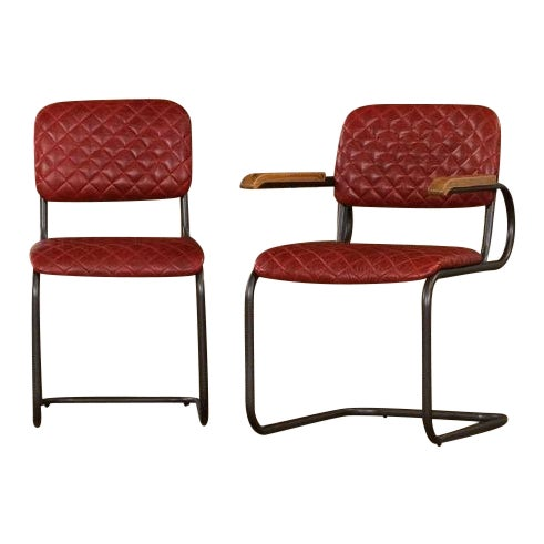 Sarreid Ltd Rodeo Drive Dining Side Chairs - Set of 2 For Sale