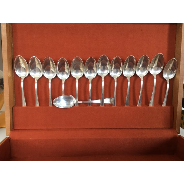 Place spoons by Gorham in the Fairfax pattern
