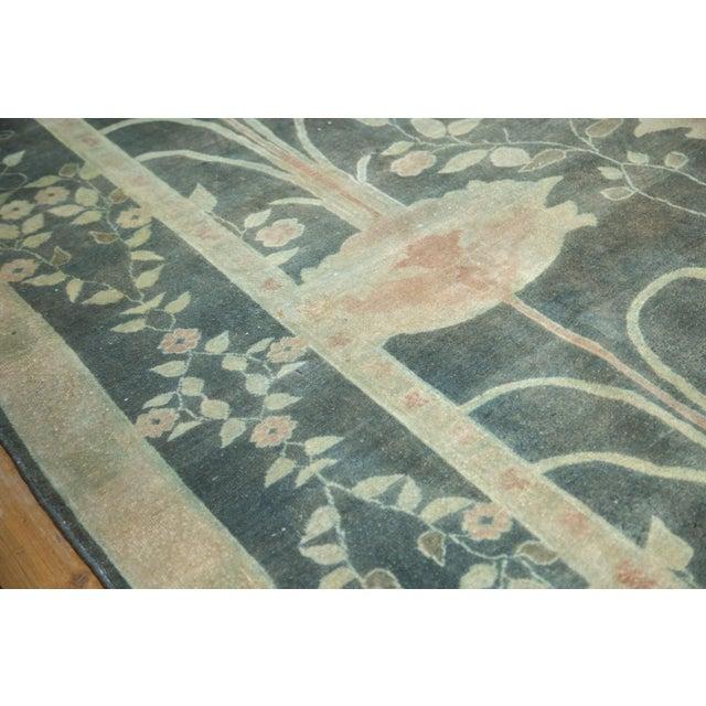 """Vintage Indo Donegal Carpet - 8'8"""" x 11'9"""" - Image 7 of 9"""