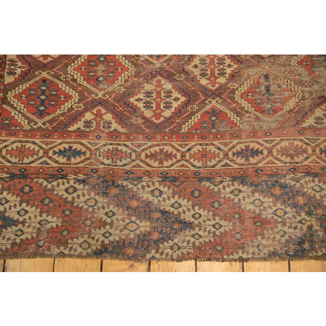 "Antique Beshir Carpet - 8'9"" X 14' For Sale - Image 11 of 13"