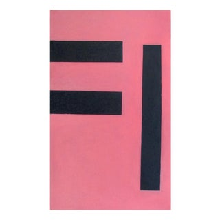 "Daniel Göttin ""Untitled 2 (Pink), 1992"", Painting For Sale"