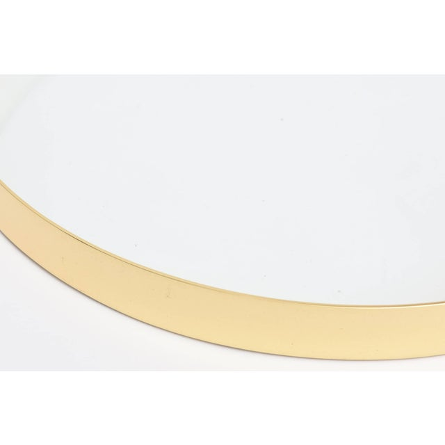 Mid-Century Brass and Glass Italian Modernist Tray For Sale - Image 9 of 11