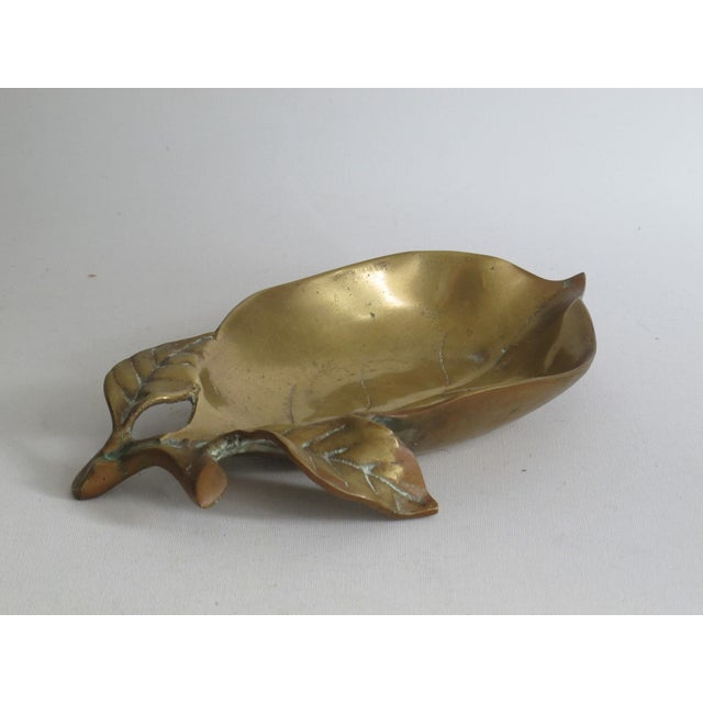 Brass Leaf Dish - Image 5 of 8