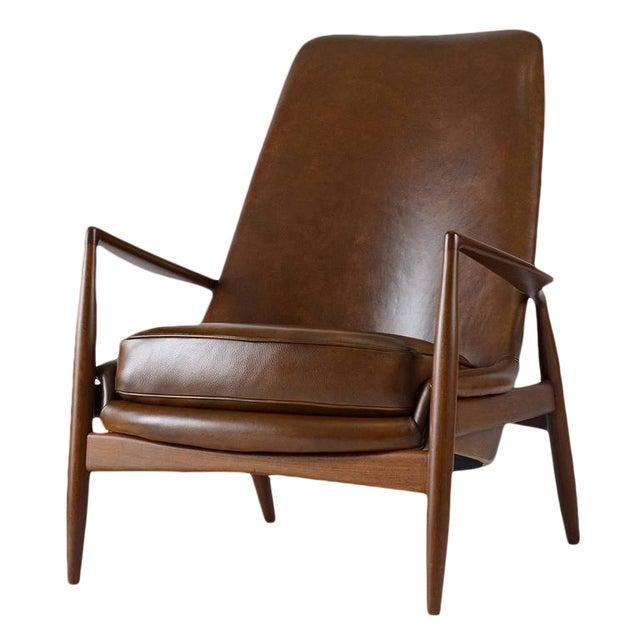 "Ib Kofod-Larsen High Back ""Seal"" Chair For Sale"