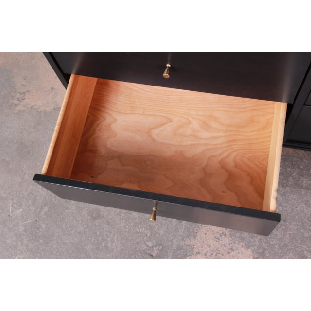 Paul McCobb Planner Group Birch Wood Six-Drawer Dresser, Newly Refinished For Sale In South Bend - Image 6 of 13